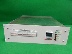 Ulvac Bake Heater Unit Rx From Entron 300mm Pvd used