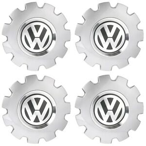 New 2002 2010 Vw Volkswagen Beetle Center Cap Replacement Set Of 4 Genuine Oem