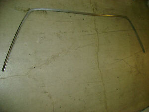 1974 1975 1976 Cadillac Eldorado Convertible Windshield Trim Stainless 1973 Gm