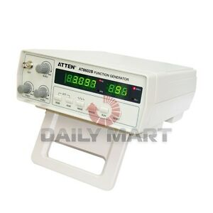 Atten At8602b Digital Function Signal Generator 0 2mhz 2mhz Seven Ranges New