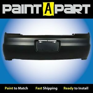 Fits 2001 2002 Honda Accord Coupe Rear Bumper Cover premium Painted