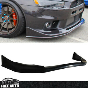 Fit 08 15 Lancer Evo 10 X Evolution V Style Jdm Front Bumper Lip Spoi