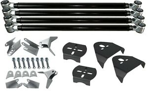 Triangulated 4 Link Suspension With Weld On Rear Air Bag Brackets For Air Ride