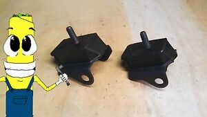Motor Mount Kit For Dodge Plymouth 273 318 340 360 383 400 426 440 Engine 65 76