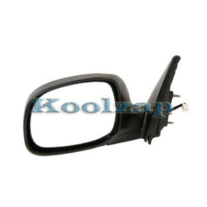 Kv For Power Rear View Door Mirror W Glass Housing Left Driver Side