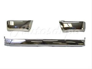 Bundle For 99 02 4runner Rear Bumper Extension End Chrome W o Flare Hole