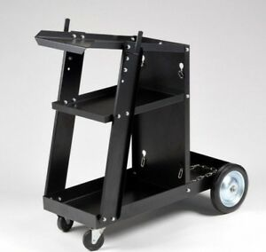 Welding Cart W Tank Storage Mig Tig Mag Arc Plasma Welding Machine Welder Tool