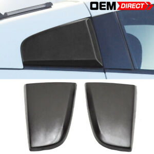 Fit For 03 08 Nissan 350z Xenon Style Window Scoop Louvers Covers