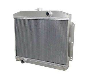 1949 1951 Mercury Ford V8 M T Aluminum Radiator Made In The Usa