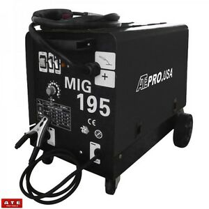195 Amp Mig Mag 220v Welder Flux Stainless Aluminum Welding Machine Gas No Gas