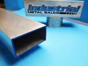 6063 T52 Aluminum Rectangle Tube 2 X 4 X 12 X 1 8 2 X 4 X 125 Wall