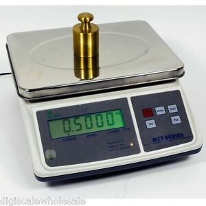 Tree Mct 3 Parts Counting Bench Scale 3lb X 0 0001 Pound W 10v Ac Adapter