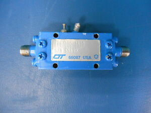 Ctt Flatpack Low noise Amplifier Afo 080 3522 4 0 8 0ghz 180ma 66610