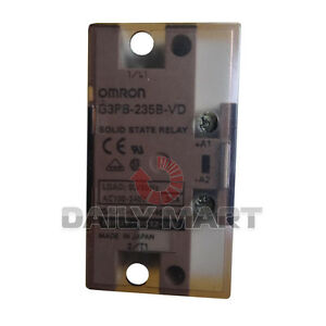 Omron G3pb 235b vd Module Plc Solid State Relay Mount New