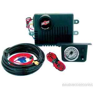 25804 Airlift 160 Psi Air Shock Controller W Dash Mounted Gauge Panel