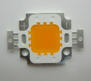 10w Warm White 1900 2100k High Power Led Module Chip Light 27 30vdc 300ma 800lm