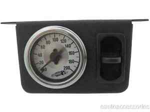 26161 Airlift Single Needle Gauge Panel With One 1 Paddle Switch 200 Psi