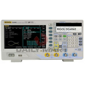 Rigol Function arbitrary Waveform Generators Dg4062 60mhz 500msa s 14 Bits New