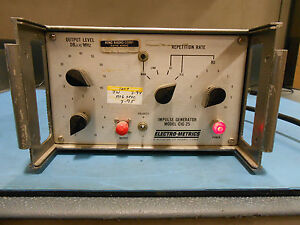 Electro Metrics Impulse Generator Model Cig 25