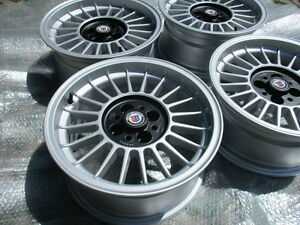 4x Classic Oz Bmw Alloy Wheels 4x100 Alpina Style 7x15 E21 E30 2002 Turbo