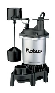 Pentair Water Flotec Simer Fpzs75v 3 4 Hp Submrsible Thermoplastic Sump Pump