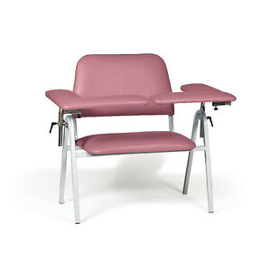 Standard Height Blood Draw Chair Extra wide 45 w X 29 d X 38 h 1 Ea