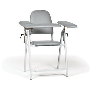 Tall Height Blood Draw Chair Standard Width 1 Ea
