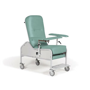 Extra wide Reclining Blood Draw Chair 1 Ea