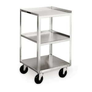 Stainless Steel Equipment Stands Equipment Stand 3 5 Casters 16 75 w X 1
