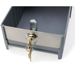 Stainless Steel Medication Box Cam Lock 1 Ea
