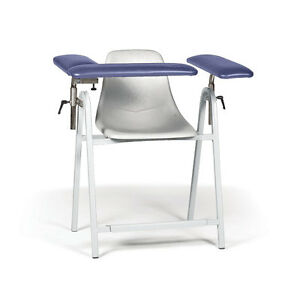 Manual Blood Draw Chair Tall Height 34 w X 28 d X 36 h 1 Ea