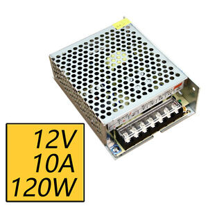 12v 10a 120w Switch Switching Power Supply Driver For Led Strip Light 110v 220v