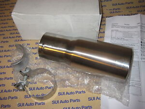 Toyota Tacoma Trd Exhaust Tip Stainless Steel Polished Genuine Oem New 2005 2014