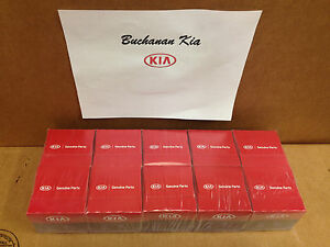 10 Pack Kia Oem Oil Filters 26300 35503 With 10 Free Drain Plug Washers