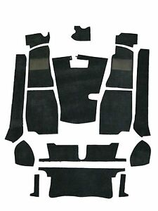 Mg Mgb Roadster 68 80 4 Synchro Carpet Set Black High Quality