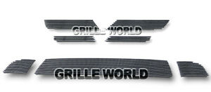 For 2010 2011 Mitsubishi Lancer Evolution Billet Premium Grille Combo