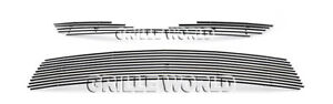 For 2012 2013 Toyota Camry Billet Premium Grille Insert Combo
