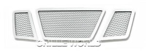 For 2005 2007 Nissan Pathfinder Stainless Steel Mesh Premium Main Upper Grille