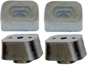 Motor Mount Cushion Kit For Chevy Corvette 236 265 283 327 Engine 53 62 Set Of 4