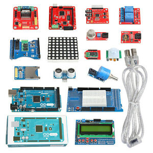 Geeetech Breakout New Advanced Kits2 Mega2560 Module Arduino Sensor Shield Motor