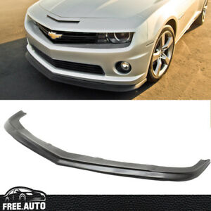 For 10 13 Chevy Chevrolet Camaro Ss V8 Zl1 Style Front Bumper Lip Spoiler Kit Pu