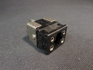 Used Omega Type J Dual Element Thermocouple Female Connector