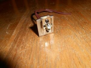 Leitz Laborlux 11 Lamp Socket Good Condition free Us Shipping