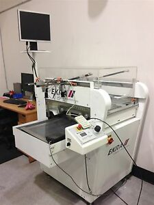 Ekra Model E1 Semi automatic Screen Printer 2005