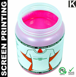 Screen Printing Ink Textile Printing Textiles T shirt Color Water