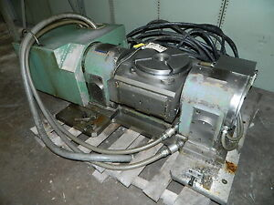 12 High Performance Precision 4th 5th Axis Cnc Tilting Rotary Table Usa Used