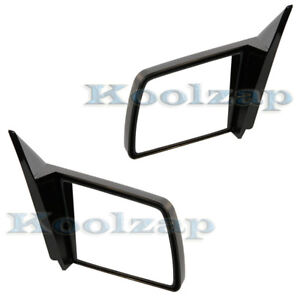 Chevy Pickup Truck C k Manual Sport Rear View Mirror Left Right Side Set Pair