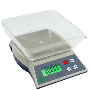Digital Bench Scale Tree Khr 3000 W Ac Adapter 3000g X 0 1g Table Top Loader