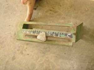 770 John Deere 770 3 Pt Hitch Lift Quadrant Na