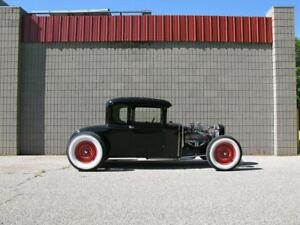 Double Z d Model A Ford Hot Rod Chassis Low And Engineered To Work Beauty